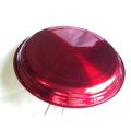 рекламные 20inch большой металлический из нержавеющей стали красный сервировочный стол