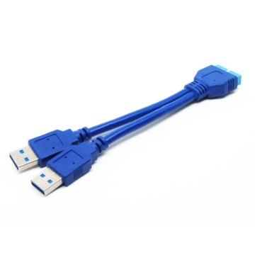 Kabel USB 3.0 20-pinowy do USB 3.0 A / MY