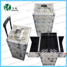 New Hot Sale Trolley Aluminum Case (HX-CT07)