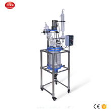 10L Lab Jacketed Glass Polymerization Reactor Price