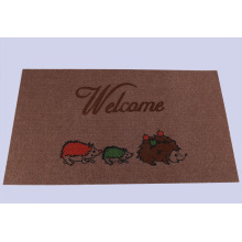 Atacado Impresso Popular Anti-Slip Door Mat