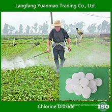 Dioxyde de chlore stabilisé pour l'agriculture Insecticides Pesticides Fongicides et herbicides