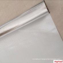 Pano de vidro da folha de alumínio, laminação da fibra de vidro da folha de alumínio, material reflexivo e de prata da telhadura
