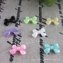 Bricolage stock en résine plastique perles bowknot perles