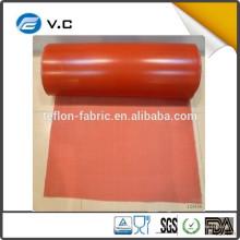 Ткань из стекловолокна изготовлена из горячего синтетического материала с силиконом в Китае