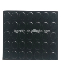 anti slip checker rubber floor mats and sheets