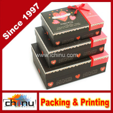 Clovery Fancy Design Decoration Gift Box Treat Box Pack of 3 (12C6)