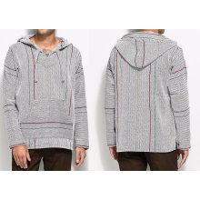 Gray Pullover High Waist Hoodies