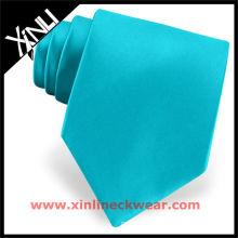 Cravate turquoise de cou de haute qualité
