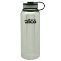 Stainless Steel Vacuum Sports Bottle with Loop 1200ml