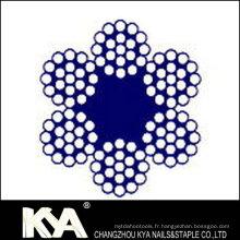 (6X9) Cordage en acier inoxydable pour débrochage, levage, dessin