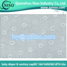 Sanitary Napkin Raw Materials Perforated PE Film Supplier (LS-Y102)