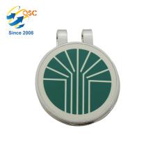 Große Qualität Nette magnetische benutzerdefinierte Metall Craft Golf Cap Clip