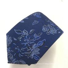 Conception florale de jacquard floral de haute visibilité pour des cravates des hommes