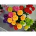 A flor artificial com Thorn bola Decoração Interior