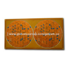 Fast Prototypes Service, Double-sided PCB, Lead-free Hal with Peelable Mask