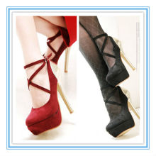 Gorgeous Hot Sale High Heel Platform Red/Black Wedding Shoes(WS-5001)