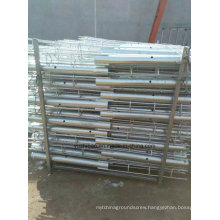 Hot DIP Galvanized Ground Screw Pile, Ground Spike