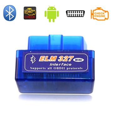 Супер мини V1.5 Elm327 Bluetooth OBD2 адаптер Авто сканер Obdii Bluetooth ВЯЗ 327 поддерживают все Obdii