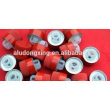 Lamelle en aluminium recouvert de couleur 8011 pour capuchons PP