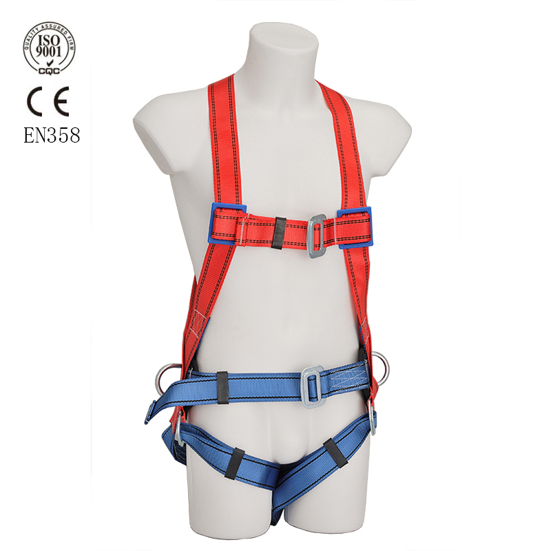 Construction full body safety harness fall protection