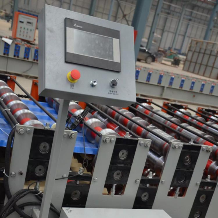 corrugated sheet machine double