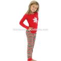 enfants filles noël vêtements ensemble noël enfants filles pyjamas en gros