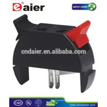 Daier WP2-18 2P Red& Black Clip Spring Terminal Speaker Terminal 2P