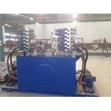 La station hydraulique est appliquée aux machines de travail du bois