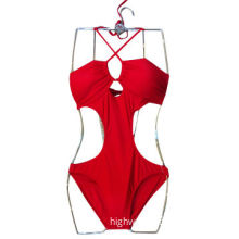 2014 new style red ladies' swimming suit