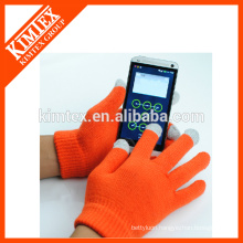 Wholesale custom smart phone gloves