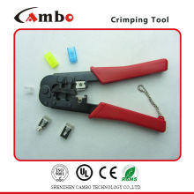 Сделано в Китае ХОРОШЕЕ КАЧЕСТВО RJ11 RJ12 RJ45 Cat 5 типов обжимного инструмента