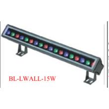 1X15W 1 метровый алюминиевый сплав светодиодный шайбы стены