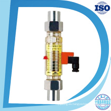 Mini panel de orificio de nitrógeno con medidor de flujo de alarma con interruptor