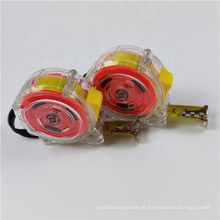 fitas métricas de aço coloridas transparentes para atacado