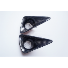 Pour BMW en fibre de carbone Fog Lamp Cover