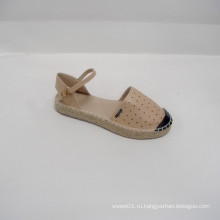 2014 завод прямых продаж милые женщины Banded квартиры обувь ПУ обувь развлекательных видов спорта лазер PU Espadrille
