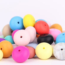 Food Grade Silicone Abacus Teething Beads