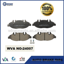 24007 bus disc brake pad for Mercedes VITO