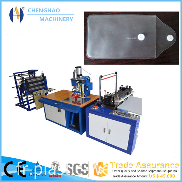 plastic bag welding machine