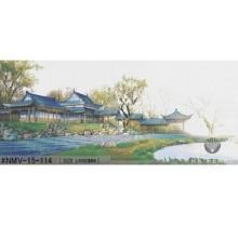 Chinesische Glasmosaikkunst