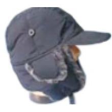Chapeau d'hiver avec fourrure fabriquée à l'homme (VT004)
