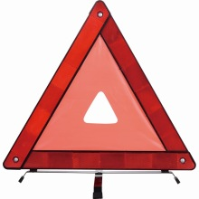 traffic safety car reflective warning triangle