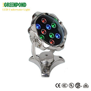 27W LED Underwater Light with RF Remote Control