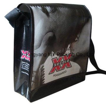 Eco Friendly Strap PP Non-Woven Messenger Bag