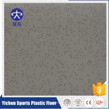Suelo de PVC de alto rendimiento Suelo de plástico resistente a los golpes de PVC