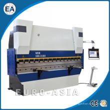 Prensa electrohidráulica servo sincronizada de freno de CNC