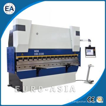 Prensa plegadora sincronizada servo electrohidráulica CNC