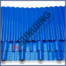 pvc plastic corrugated thermal insulation for roofing sheets