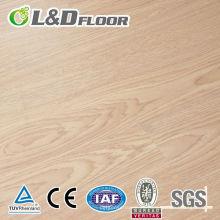 Suelo laminado de HDF de madera impermeable del 100%